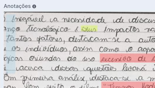 Marcações no Texto